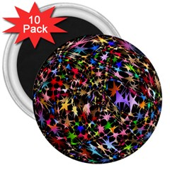 Network Integration Intertwined 3  Magnets (10 Pack)