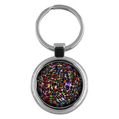Network Integration Intertwined Key Chains (round)