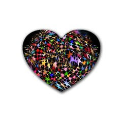 Network Integration Intertwined Heart Coaster (4 pack)