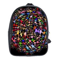 Network Integration Intertwined School Bags(large)