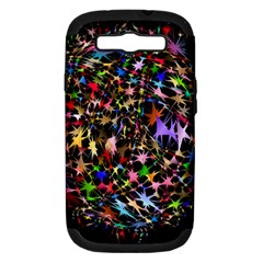 Network Integration Intertwined Samsung Galaxy S Iii Hardshell Case (pc+silicone)