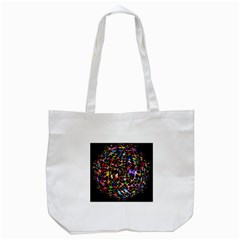 Network Integration Intertwined Tote Bag (white)