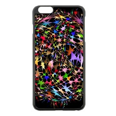 Network Integration Intertwined Apple Iphone 6 Plus/6s Plus Black Enamel Case