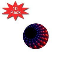 Fractal Mathematics Abstract 1  Mini Magnet (10 Pack)