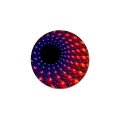 Fractal Mathematics Abstract Golf Ball Marker (10 Pack)