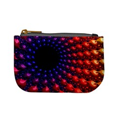 Fractal Mathematics Abstract Mini Coin Purses