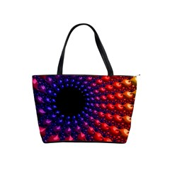 Fractal Mathematics Abstract Shoulder Handbags