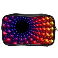 Fractal Mathematics Abstract Toiletries Bags