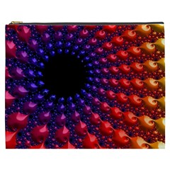 Fractal Mathematics Abstract Cosmetic Bag (xxxl)