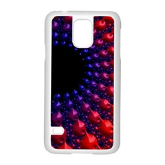 Fractal Mathematics Abstract Samsung Galaxy S5 Case (white)