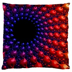 Fractal Mathematics Abstract Standard Flano Cushion Case (one Side)