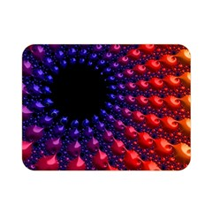Fractal Mathematics Abstract Double Sided Flano Blanket (mini)