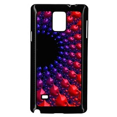 Fractal Mathematics Abstract Samsung Galaxy Note 4 Case (Black)