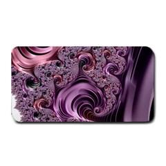 Purple Abstract Art Fractal Art Fractal Medium Bar Mats