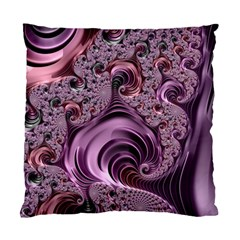Purple Abstract Art Fractal Art Fractal Standard Cushion Case (one Side)