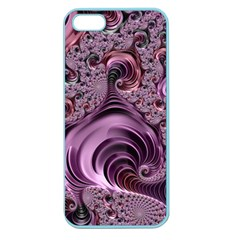 Purple Abstract Art Fractal Art Fractal Apple Seamless Iphone 5 Case (color)