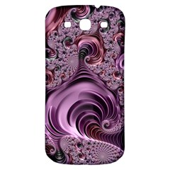 Purple Abstract Art Fractal Art Fractal Samsung Galaxy S3 S III Classic Hardshell Back Case
