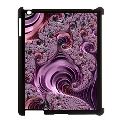 Purple Abstract Art Fractal Art Fractal Apple Ipad 3/4 Case (black)