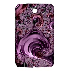 Purple Abstract Art Fractal Art Fractal Samsung Galaxy Tab 3 (7 ) P3200 Hardshell Case
