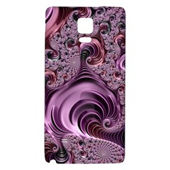 Purple Abstract Art Fractal Art Fractal Galaxy Note 4 Back Case