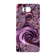 Purple Abstract Art Fractal Art Fractal Samsung Galaxy Alpha Hardshell Back Case