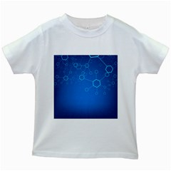 Molecules Classic Medicine Medical Terms Comprehensive Study Medical Blue Kids White T Shirts