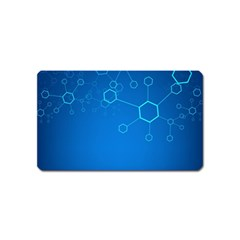 Molecules Classic Medicine Medical Terms Comprehensive Study Medical Blue Magnet (Name Card)