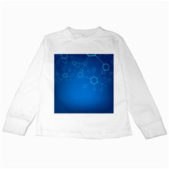 Molecules Classic Medicine Medical Terms Comprehensive Study Medical Blue Kids Long Sleeve T Shirts