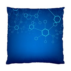 Molecules Classic Medicine Medical Terms Comprehensive Study Medical Blue Standard Cushion Case (Two Sides)