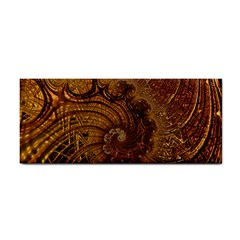 Copper Caramel Swirls Abstract Art Cosmetic Storage Cases