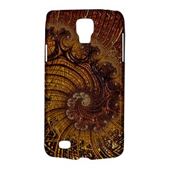 Copper Caramel Swirls Abstract Art Galaxy S4 Active