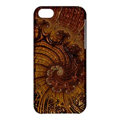 Copper Caramel Swirls Abstract Art Apple Iphone 5c Hardshell Case
