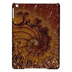 Copper Caramel Swirls Abstract Art Ipad Air Hardshell Cases
