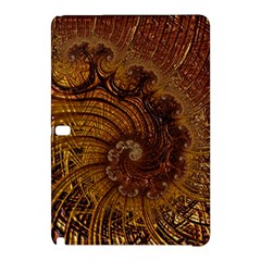 Copper Caramel Swirls Abstract Art Samsung Galaxy Tab Pro 10 1 Hardshell Case