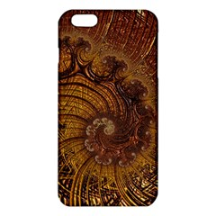 Copper Caramel Swirls Abstract Art Iphone 6 Plus/6s Plus Tpu Case
