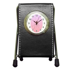 Mosquito Pink Insect Blood Pen Holder Desk Clocks