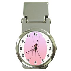 Mosquito Pink Insect Blood Money Clip Watches