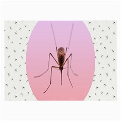 Mosquito Pink Insect Blood Large Glasses Cloth