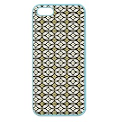 Flower Floral Chevrpn Wave Sunflower Rose Grey Yellow Apple Seamless iPhone 5 Case (Color)