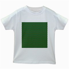 Candy Green Sugar Kids White T Shirts