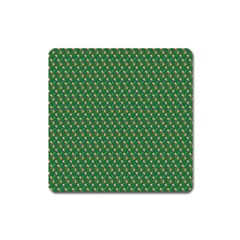 Candy Green Sugar Square Magnet