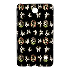 Butterfly Floral Flower Green White Samsung Galaxy Tab 4 (8 ) Hardshell Case