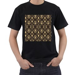 Wallpaper Wall Art Art Architecture Men s T Shirt (black) (two Sided)