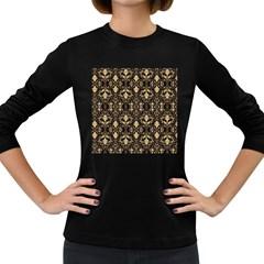 Wallpaper Wall Art Art Architecture Women s Long Sleeve Dark T-Shirts