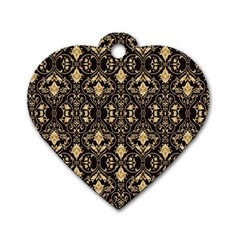 Wallpaper Wall Art Art Architecture Dog Tag Heart (one Side)
