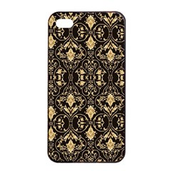 Wallpaper Wall Art Art Architecture Apple Iphone 4/4s Seamless Case (black)