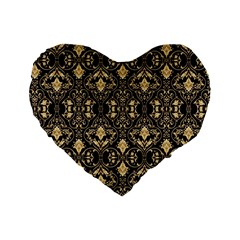 Wallpaper Wall Art Art Architecture Standard 16  Premium Flano Heart Shape Cushions