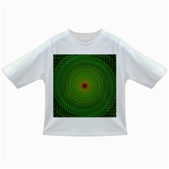 Green Fractal Simple Wire String Infant/toddler T Shirts