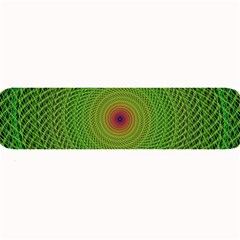 Green Fractal Simple Wire String Large Bar Mats