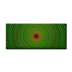 Green Fractal Simple Wire String Cosmetic Storage Cases